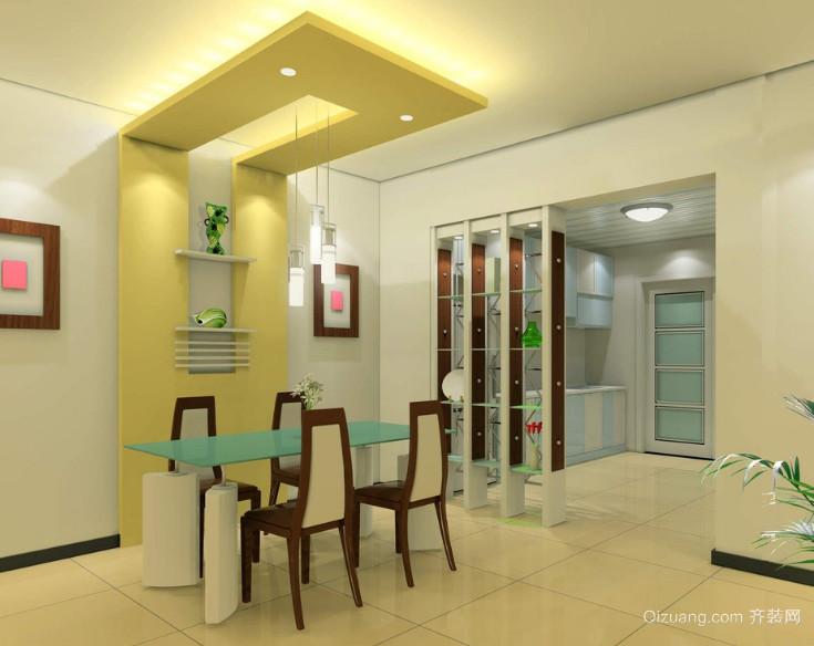 100平米大户型两室两厅欧式餐厅装修效果图