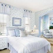 蓝色梦幻卧室欣赏