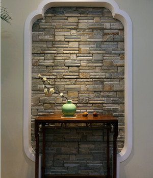 优雅知性:现代中式简约老年公寓家装图
