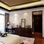 新中式卧室置物柜欣赏