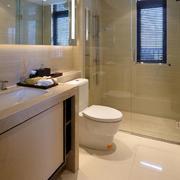新中式简约卫生间设计