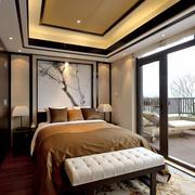 新中式主卧室设计