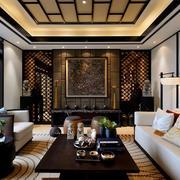 新中式客厅图片欣赏