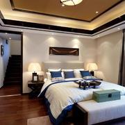 新中式卧室典雅装饰