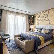 新中式卧室床头装饰画