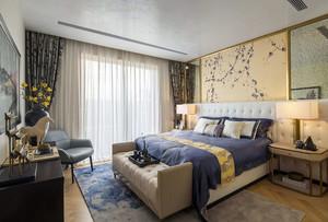 东方魅力:现代简约中式复式楼家装效果图