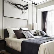 新中式舒适大床展示