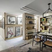 新中式家居装饰画展示