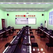 现代教室整体布置