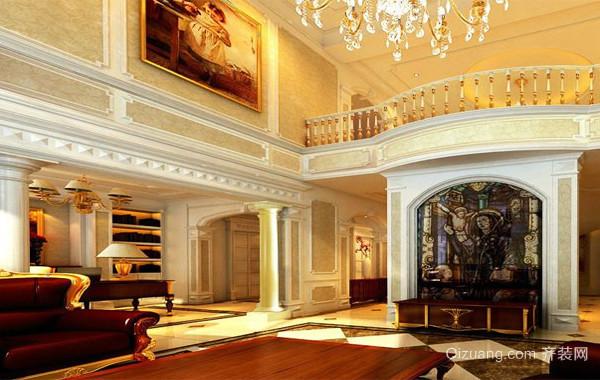 120平米大户型欧式精致的楼房室内装修效果图