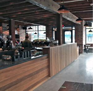 2016都市精致的欧式咖啡馆吧台装修效果图鉴赏