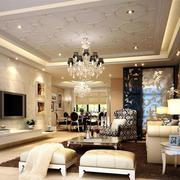 客厅水晶吊灯欣赏