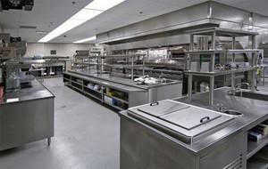 2015大型都市酒店厨房设计效果图