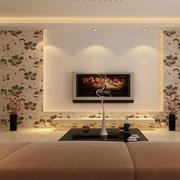 现代电视背景墙图