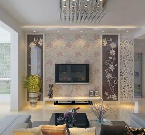 90平米大户型欧式客厅电视背景墙装修效果图欣赏