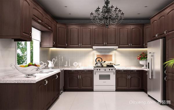 120平米大户型欧式完美的厨房吊顶装修效果图