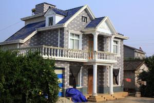 淳朴自然现代农村房屋设计效果图