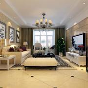 客厅设计窗帘设计