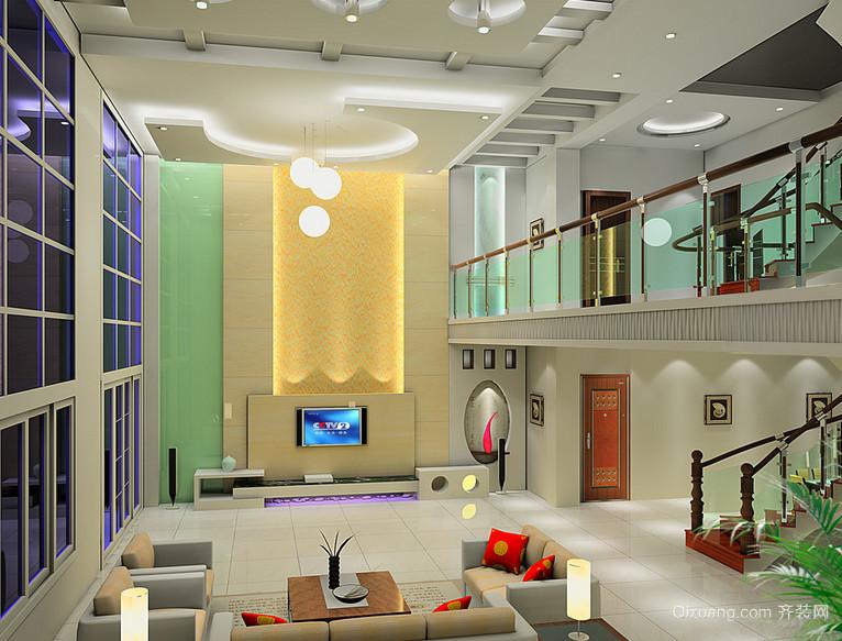 2016唯美大方的现代世界楼中楼装修效果图室别墅别墅迷你迷你包号图片