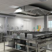 精致干净的厨房展示