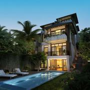 唯美的别墅造型图
