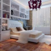 70平米欧式现代小户型卧室装修效果图鉴赏