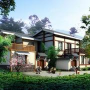 中式风情的房屋展示