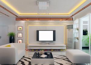 2016大户型精致的欧式客厅背景墙装修效果图欣赏