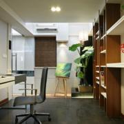 80平米小户型现代精致的书房吊顶装修效果图