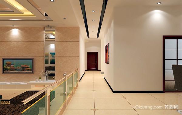 完美的意见欧式大户型客厅走廊吊顶装修效果图