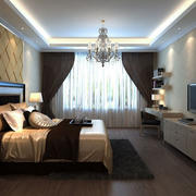 新房典雅卧室展示