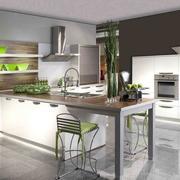 厨房吧台设计展示
