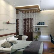 现代卧室背景墙设计