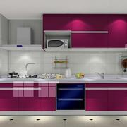厨房不锈钢橱柜展示