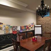 典雅复古餐厅展示