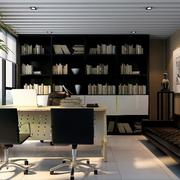 办公室书柜装潢展示
