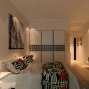 70平米欧式小户型卧室背景墙装修效果图实例