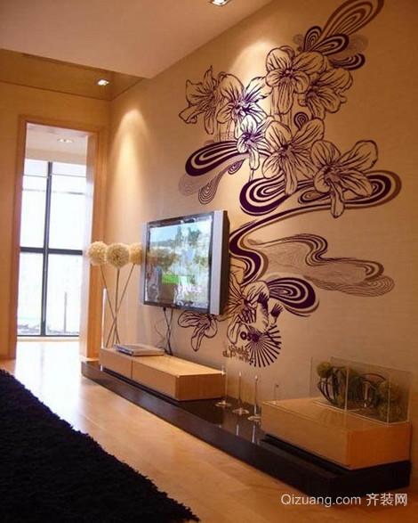 2016精美的大户型欧式室内手绘客厅装修效果图