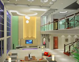 2016欧式经典的别墅楼中楼装修效果图欣赏