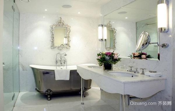 简约134平米大户型新房卫生间布置图片