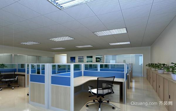 都市化上市企业办公室装修设计效果图