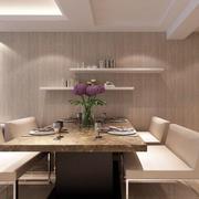 新房小餐厅浪漫展示