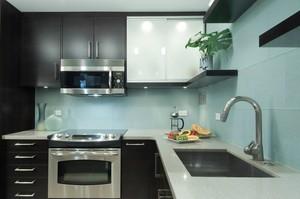 现代70平米小户型厨房装修效果图