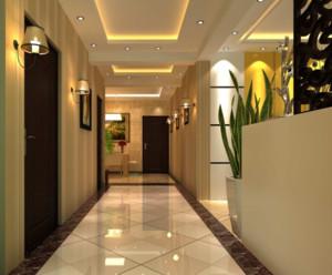 经典高贵的大户型欧式室内走廊吊顶装修效果图