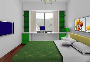 120平米大户型欧式儿童房卧室手绘墙装修效果图