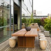 阳台实木精美餐桌