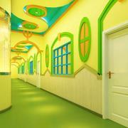 幼儿园别具创新走廊欣赏