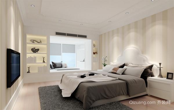 2016欧式单身公寓卧室装饰装修效果图鉴赏