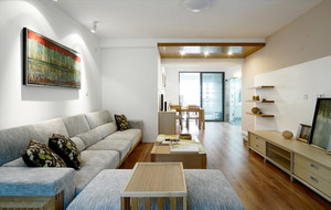 简约客厅舒适装饰设计