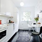 白色简洁厨房欣赏